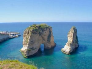 low cost rental cars in beirute - LebanonPigeonRocksBeirut 2 2 300x225 - Low Cost Rental Cars in Beirute